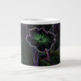 Abstract Flower Extra Large Mugs
