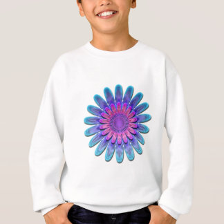 Abstract flower. sweatshirt