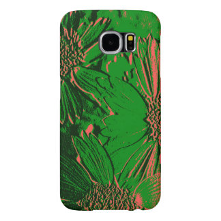 Abstract Flowers 1 Samsung Galaxy S6 Cases