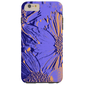 Abstract Flowers 2 Tough iPhone 6 Plus Case