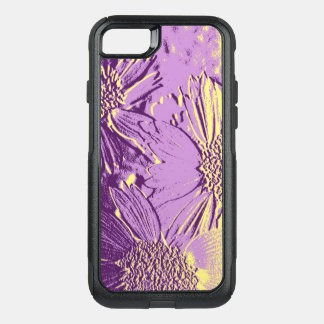 Abstract Flowers 3 Cute Floral OtterBox Commuter iPhone 8/7 Case