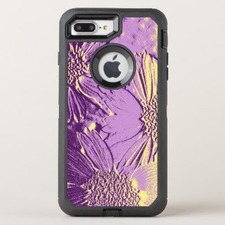 Abstract Flowers 3 Cute Floral OtterBox Defender iPhone 8 Plus/7 Plus Case