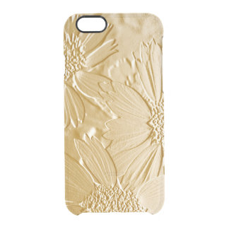 Abstract Flowers 4 Clear iPhone 6/6S Case