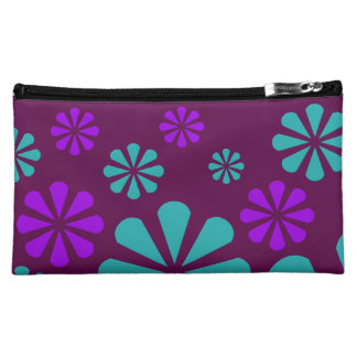 Abstract Flowers custom cosmetics bag Cosmetic Bag
