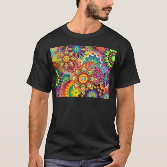 Abstract,flowers,illustartion,colour,flowers T-Shirt