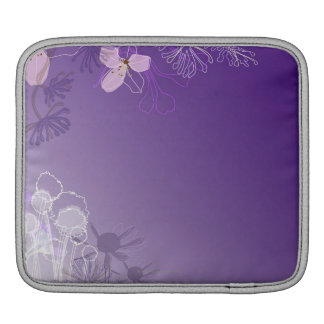 Abstract Flowers iPad Sleeve