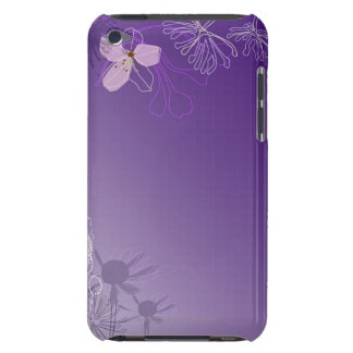 Abstract Flowers iPod Touch Cases