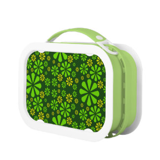 Abstract Flowers lunch box