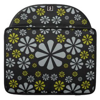 Abstract Flowers Macbook sleeve