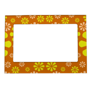 Abstract Flowers picture frame