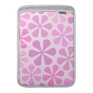 Abstract Flowers Pinks Sleeves For MacBook Air