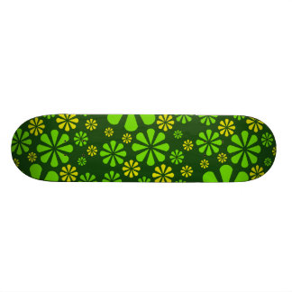 Abstract Flowers skateboard