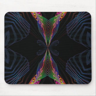 abstract fly mousepad