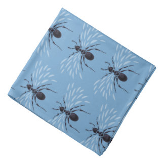 Abstract Flying Ant With Wings Pattern Bandana