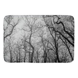"Abstract  forest ""customize color""  bath mat"