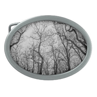 "Abstract  forest ""customize color"" belt buckle"
