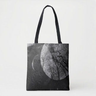 "Abstract forest ""customize color""  tote bag"