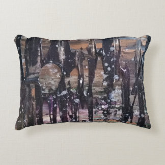 Abstract Forest Decorative Cushion