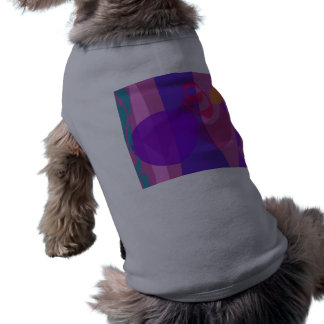 Abstract Forest Image Cool Soft Pet T-shirt