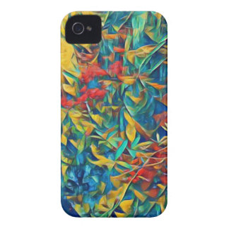 Abstract Forest iPhone 4 Case-Mate Case