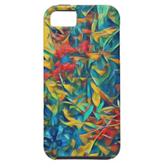 Abstract Forest iPhone 5 Case