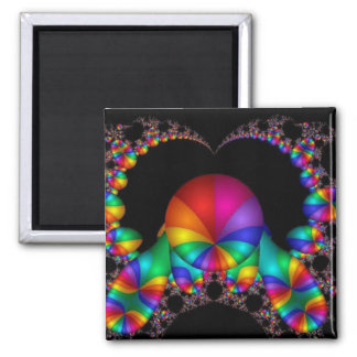 abstract fractal art (23) magnet