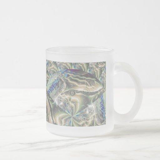 abstract fractal art (2) mug
