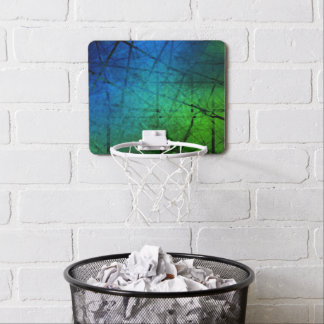 Abstract Fractal Art Mini Basketball Hoop