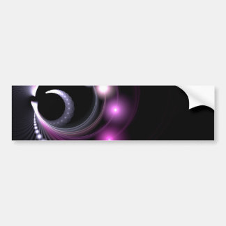 Abstract Fractal Background Bumper Sticker