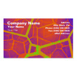 Abstract Fractal Background Business Cards