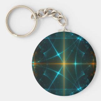 Abstract Fractal Fantasy Art Keychain