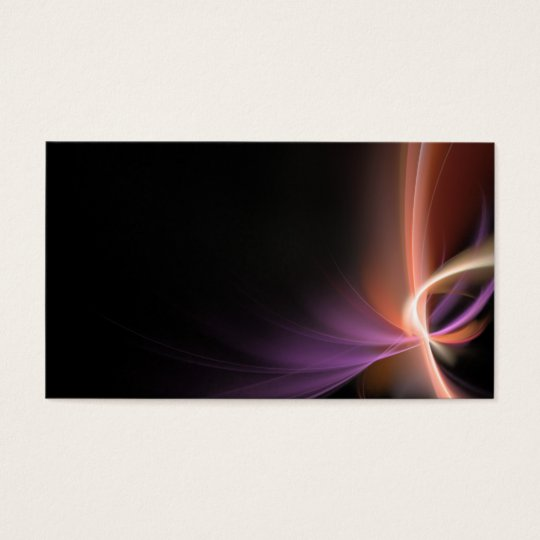 Abstract Fractal Layout, Name, Address 1, Addre... Business Card