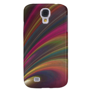 Abstract Fractal Lines Galaxy S4 Case