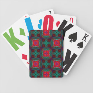 Abstract Fractal Pattern Bicycle Card Decks