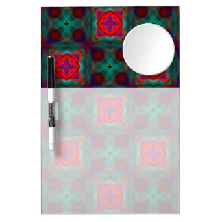 Abstract Fractal Pattern Dry-Erase Whiteboard