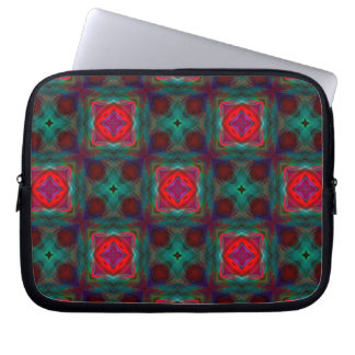 Abstract Fractal Pattern Laptop Sleeve