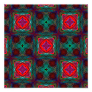 Abstract Fractal Pattern Photo Art