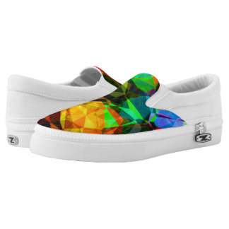Abstract Fractal Printed Shoes
