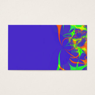 Abstract fractal profile card