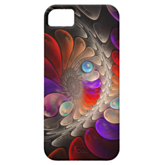 Abstract fractal Spiral iPhone 5 Case