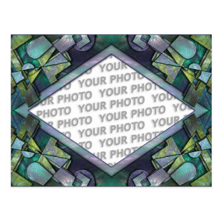 Abstract frame ARTs 1 + your photo Postcard