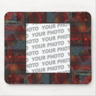 Abstract frame ARTs 4 + your photo Mousepad