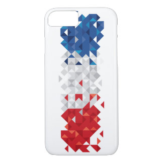 Abstract France Flag, French Colors Phone Case