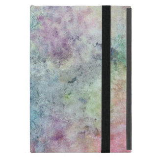 abstract free hand drawing from watercolor iPad mini cover