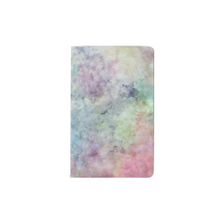 abstract free hand drawing from watercolor pocket moleskine notebook