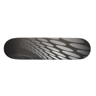abstract_free_vector_29 18.1 cm old school skateboard deck