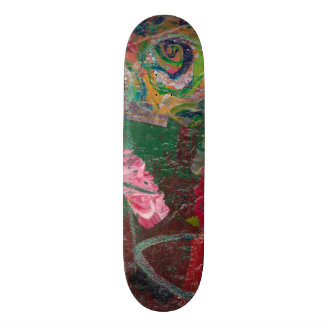 Abstract Freestyle 20 Cm Skateboard Deck