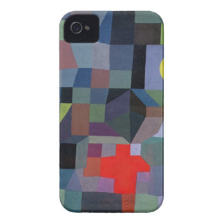 Abstract Full Moon iPhone Case