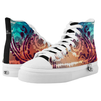 Abstract Future High Tops