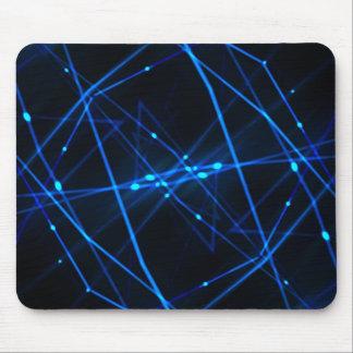 Abstract futuristic design mousepad